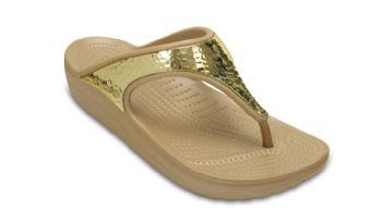 Crocs Womens Sloane Embellished Flip